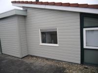 Plaatsen nieuw raam (Gorinchem)
