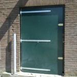 Nieuwe staldeuren