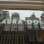 Belettering etalage ruit (Amsterdam)